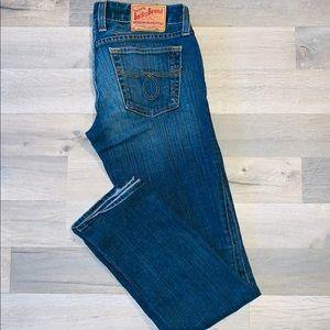 Size 6 straight leg Lucky Brand jeans